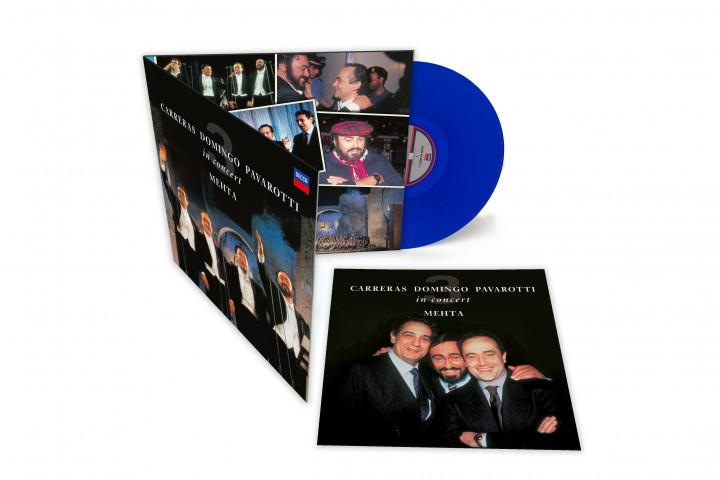 Die Drei Tenöre - blaue Vinyl