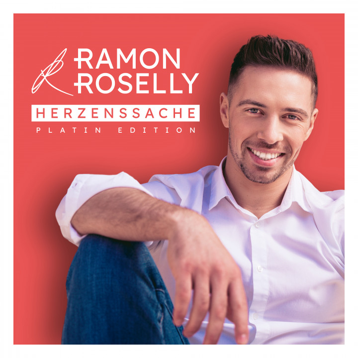 Ramon Roselly - Herzenssache (Platin Edition) - Cover
