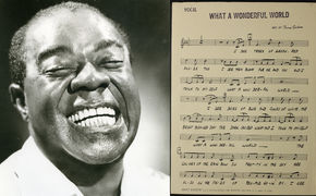 Louis Armstrong, Balsam für Auge und Ohr - Louis-Armstrong-Hit neu bebildert