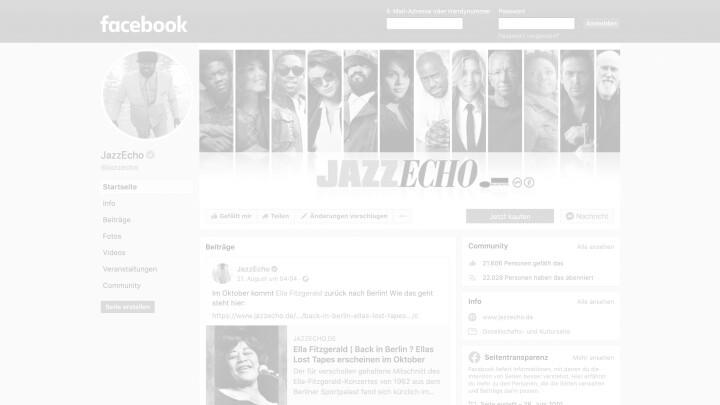 JazzEcho Facebook Page