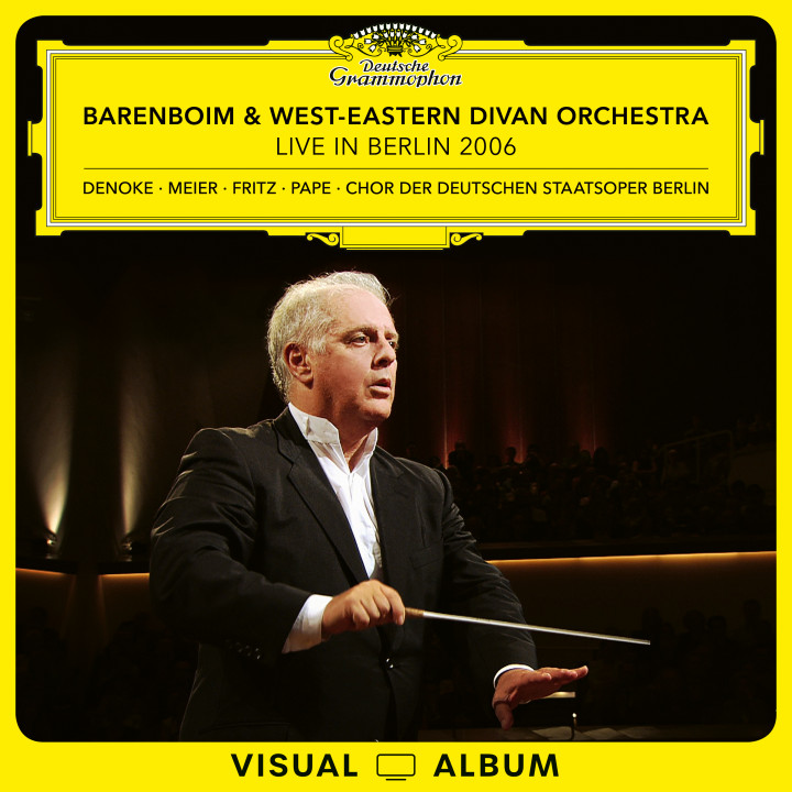 Barenboim - Live in Berlin 2006 Euroarts Cover