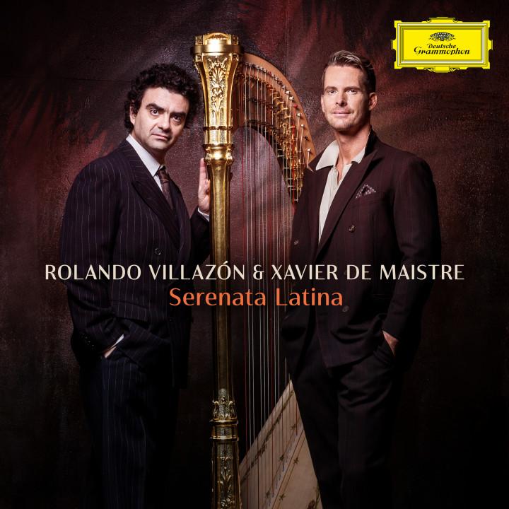SERENATA LATINA Rolando Villazón & Xavier de Maistre Cover