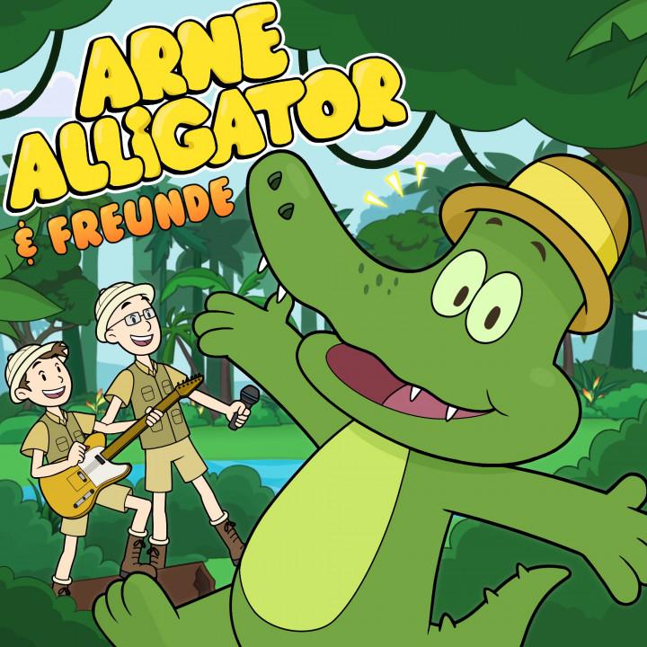 Arne Alligator & Freunde Cover