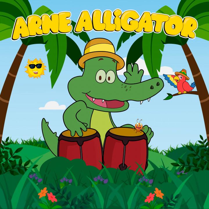 Arne Alligator Single Cover