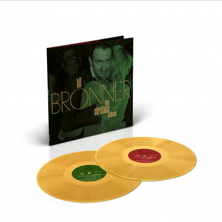 Till Brönner - The Christmas Album (gold Lt. Ed 2LP Packshot)
