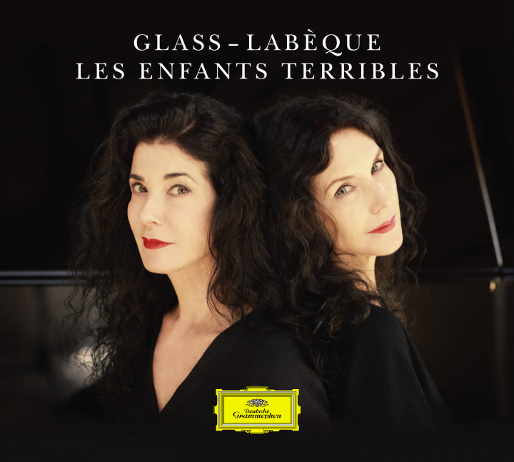 Katia & Marielle Labèque Glass Les Enfants Terribles Cover