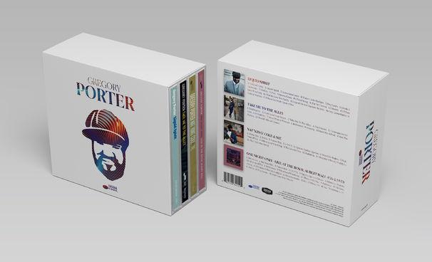 Gregory Porter, 4 Original Albums - die Box die jeder braucht