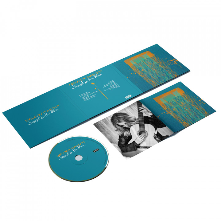 Melody Gardot - Sunset In The Blue - CD Packshot