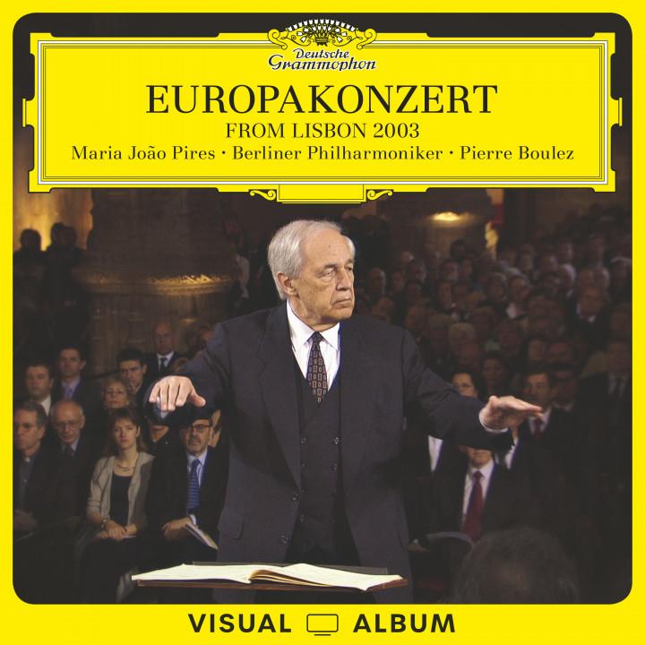 Europakonzert from Lisbon 2003 Pires Boulez Cover