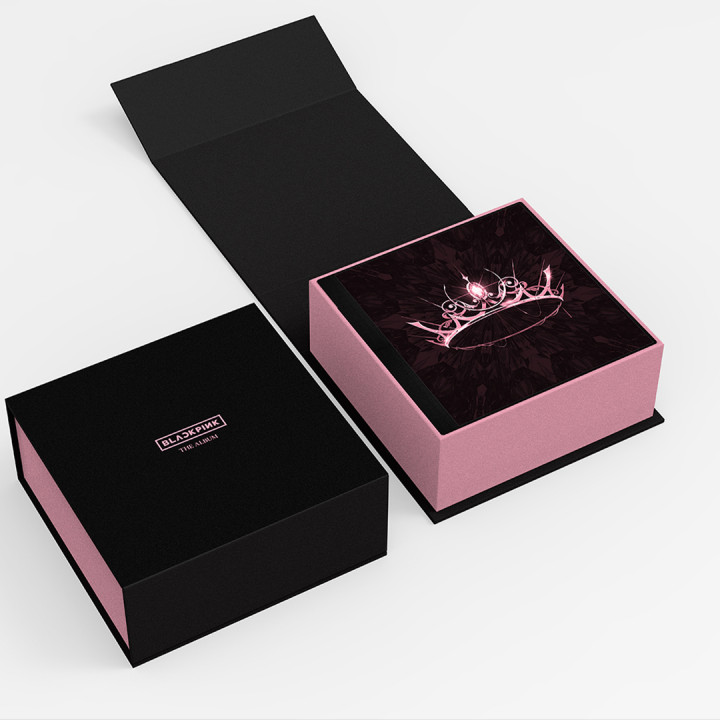 BLACKPINK Packshot THE ALBUM V01