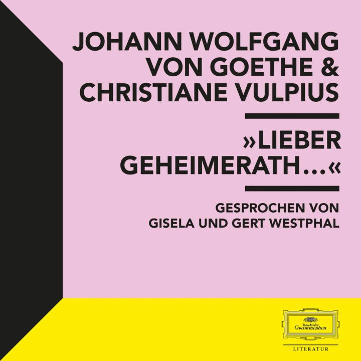 """""""Lieber Geheimrath..."""""""
