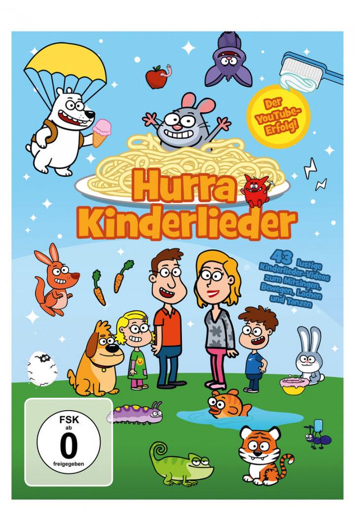 Hurra Kinderlieder DVD