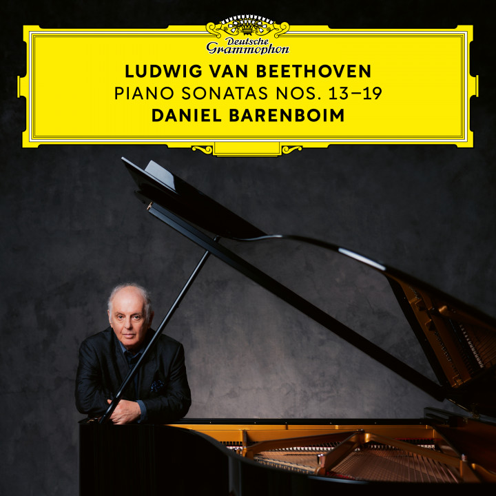 Barenboim Sonatas No. 13 - 19 Digital Single 00028948395187 Cover