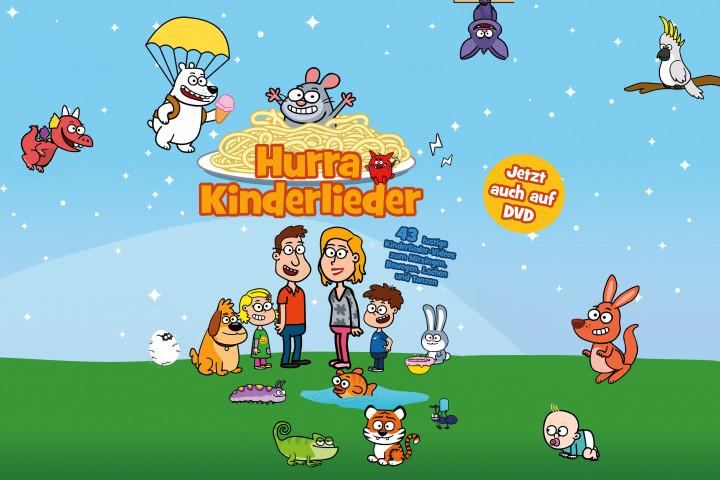 DVD Newsbild Hurra Kinderlieder