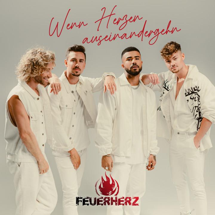Feuerherz - Wenn Herzen auseinandergehn - Cover