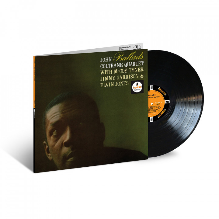 John Coltrane - Ballads (Acoustic Sounds Packshot)