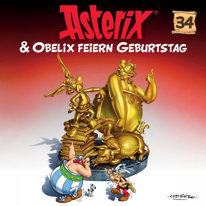 Asterix Folge 34 Cover