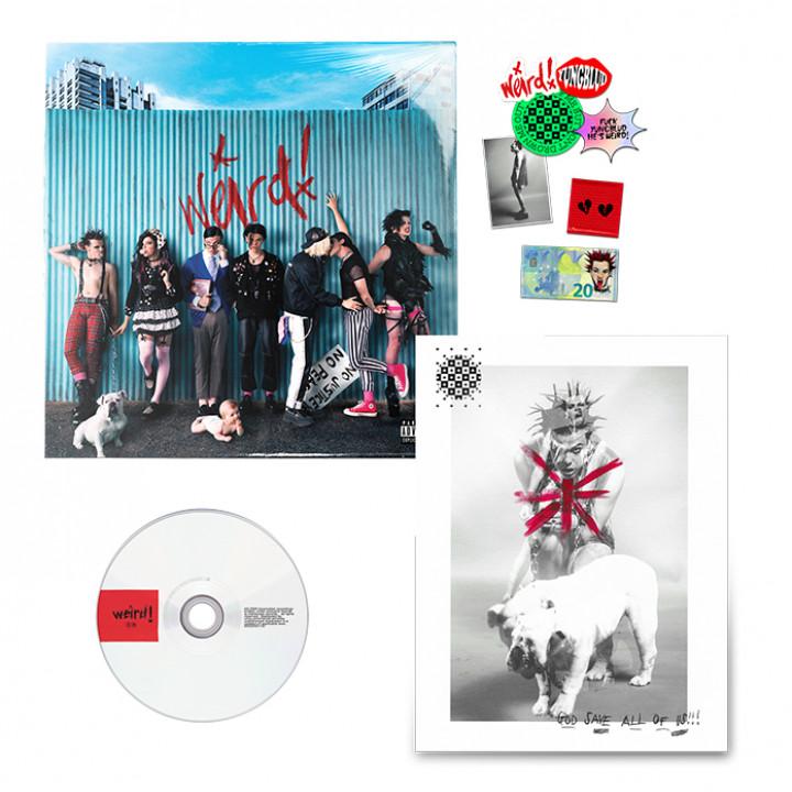 """Weird! faux 7"""" CD"""