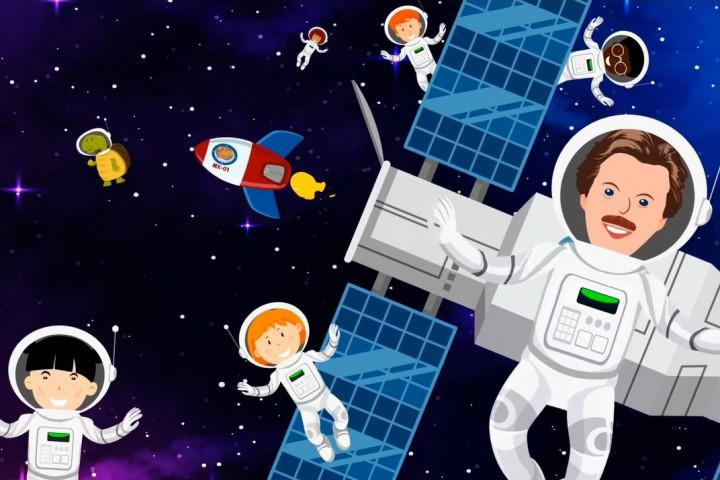 Die Maus auf Weltraumreise - Volker Rosin