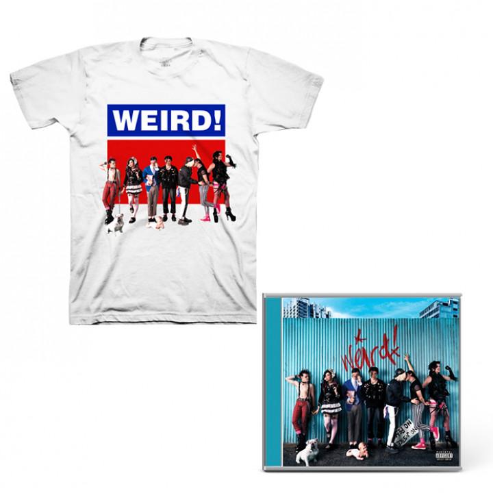 Weird! CD + Shirt + Card