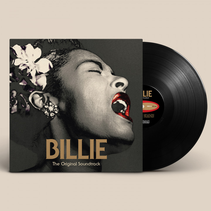 Billie Holiday - BILLIE Soundtrack LP (Packshot)