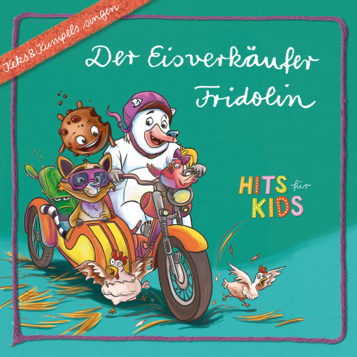 Eisverkäufer Fridolin Cover