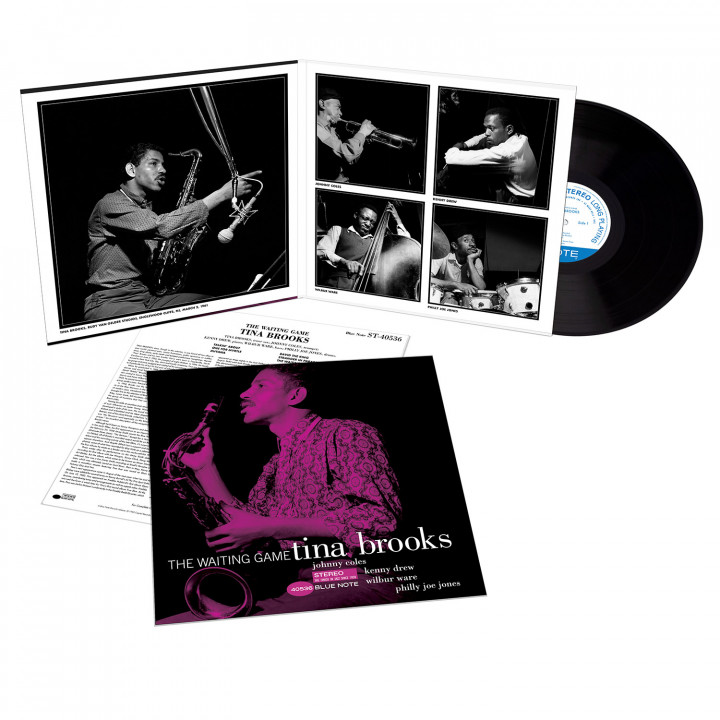 00602508934193_Tina Brooks_The Waiting Game (Tone Poet Vinyl)_Packshot