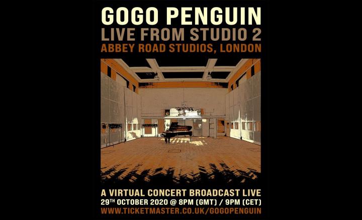 GoGo Penguin Live at Studio 2 (Abbey Road Studios, London)