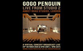 GoGo Penguin, Konzert-Live-Stream - GoGo Penguin aus Studio Two der Abbey Road Studios