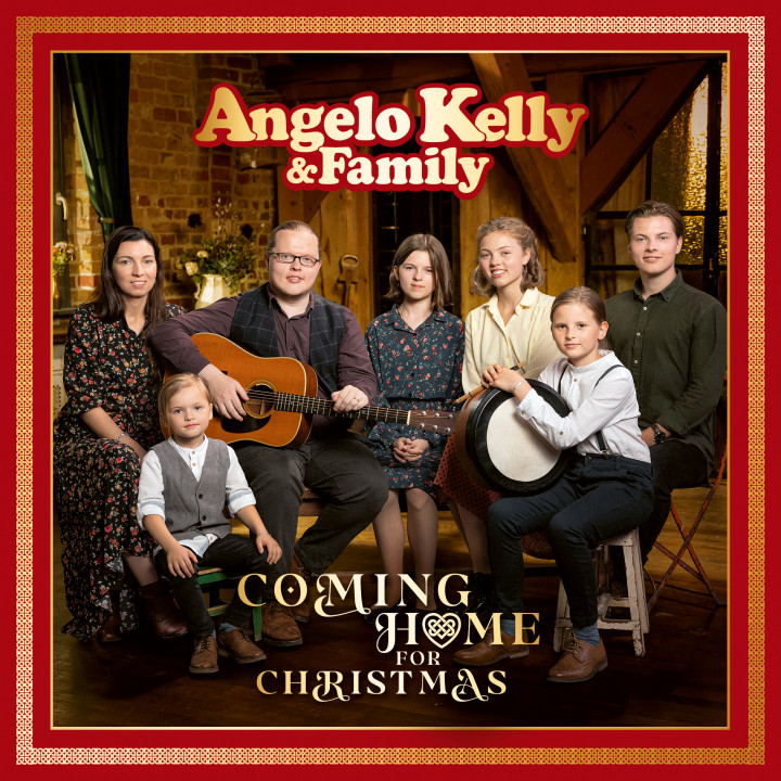 Angelo Kelly & Family - Coming Home For Christmas (2CD) - Cover