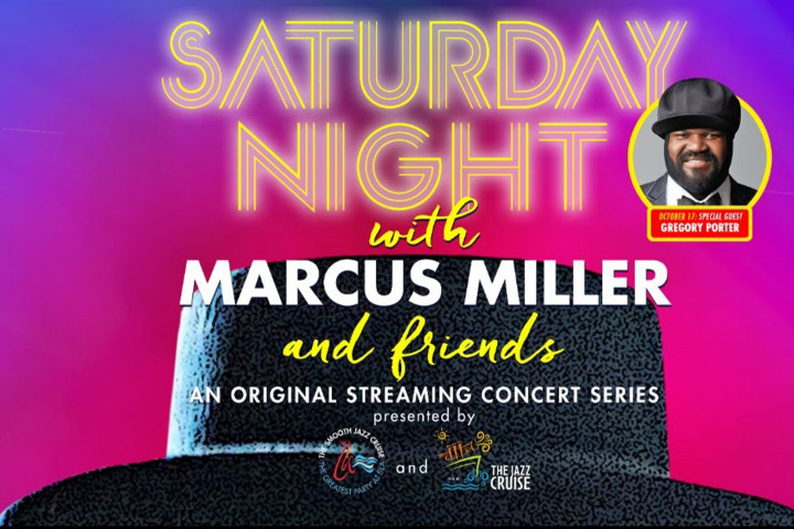Saturday Night with Marcus Miller & Friends - Gregory Porter (17. Oktober)