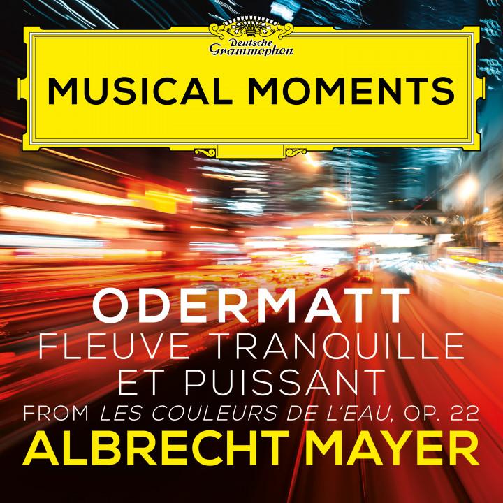 Odermatt Les couleurs de l'eau, Op. 22: I. Fleuve tranquille et puissant Musical Moments eAlbum CVR