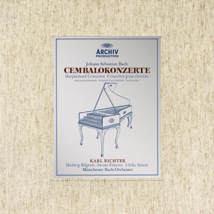 Karl Richter Bach: Harpsichord Concertos BWV 1052- 1058 & 1060-1065 eAlbum Cvr