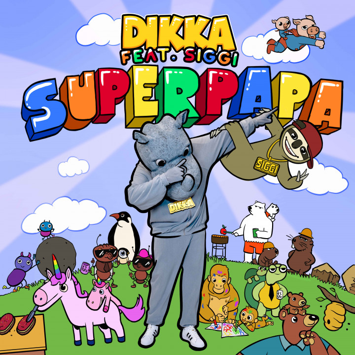 Superpapa Cover