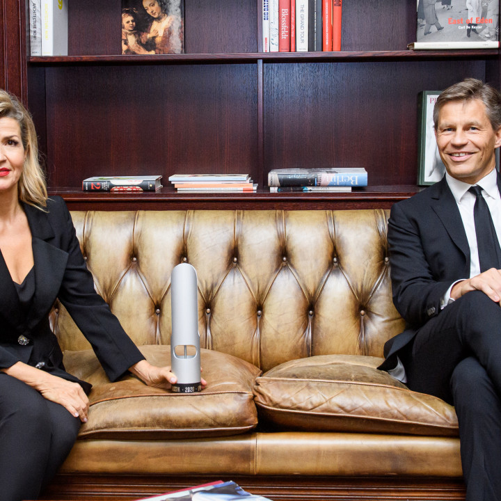 Anne-Sophie Mutter & Frank Briegmann, CEO & President Universal Music Central Europe und Deutsche Grammophon