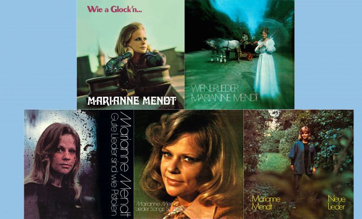 Marianne Mendt - Wie a Glock'n... / Wienerlieder / Gute Lieder sind wie Pistolen / Lieder Songs Schlager / Neue Lieder