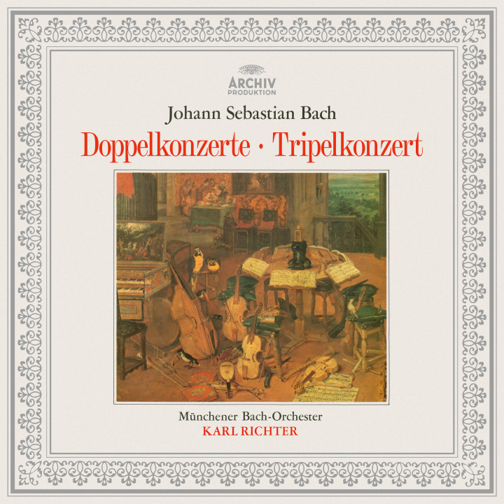 Karl Richter - Bach: Concerto BWV 1055R, Double Concertos BWV 1043, 1060, 1060R, Triple Concerto BWV 1064R eAlbum Cover