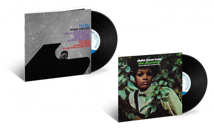 "JazzEcho-Plattenteller: Tone Poet Vinyl Series - Herbie Hancock ""My Point Of View"" / Duke Pearson ""The Phantom"""