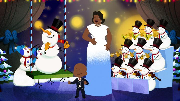 Ella Fitzgerald: Frosty The Snowman
