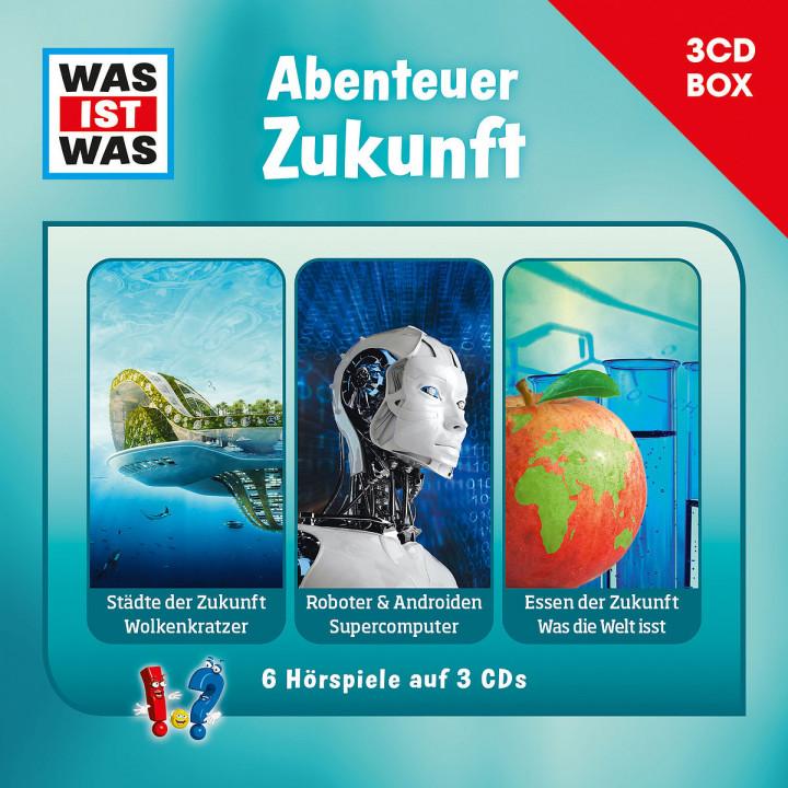 Was Ist Was 3-CD Hörspielbox Vol.11 - Zukunft