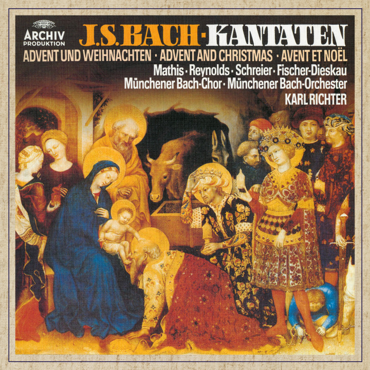 Karl Richter Bach, J.S.: Cantatas for Advent and Christmas eAlbum