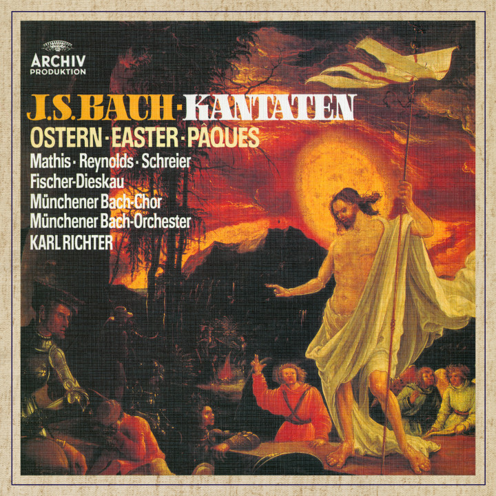 Karl Richter Bach Cantatas for Easter eAlbum Cover