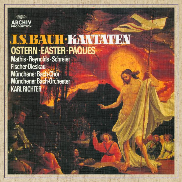 Karl Richter Bach Cantatas for Easter eAlbum Cover
