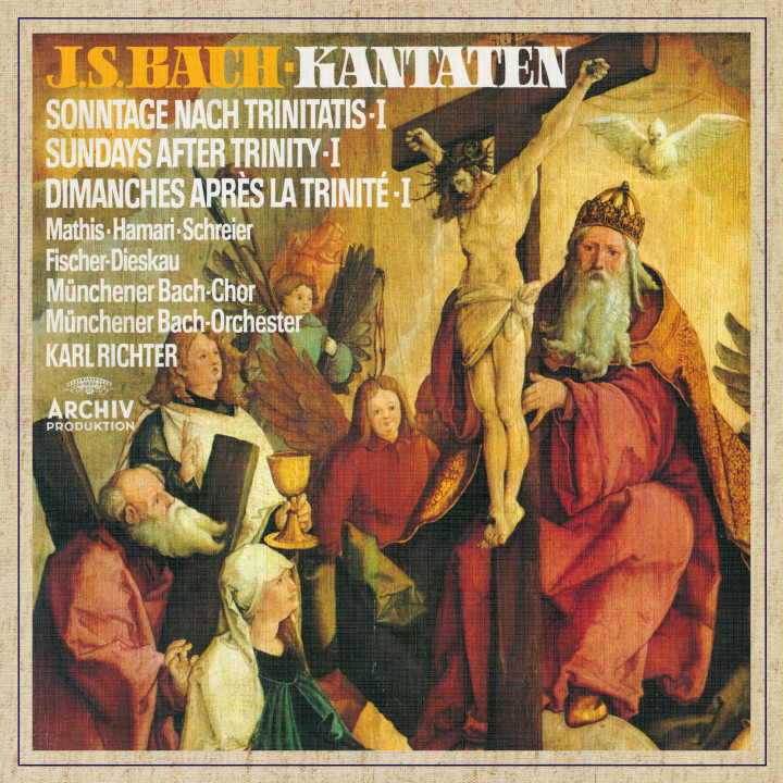 Karl Richter Bach, J.S.: Cantatas for the Sundays after Trinity I eAlbum Cover