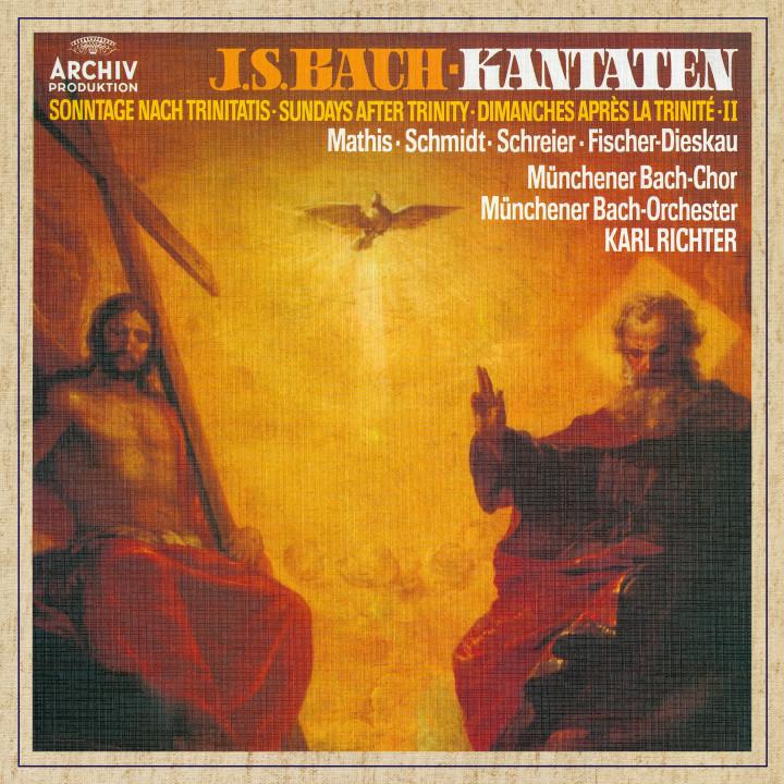 Karl Richter. Bach, J.S.: Sundays after Trinity II eAlbum Cover