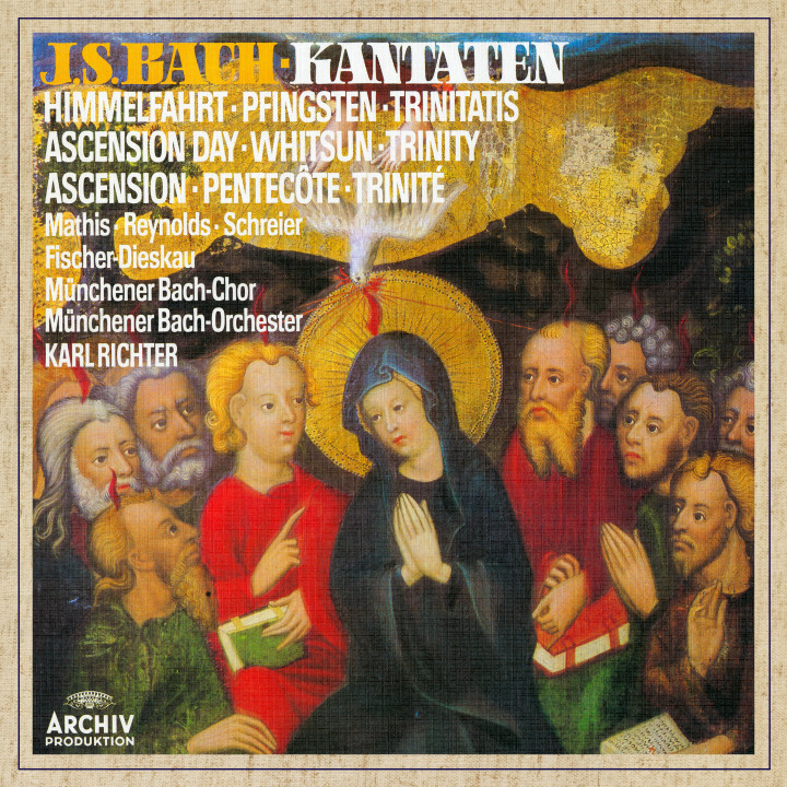 Karl Richter Bach, J.S.: Cantatas for Ascension Day, Whitsun & Trinity eAlbum Cover