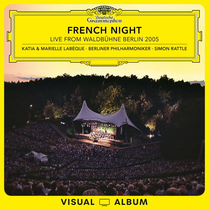 French Night Live From Waldbühne Berlin 2005 Labeque Rattle EV Cover