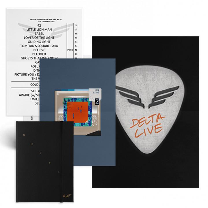 Delta Diaries CD Box