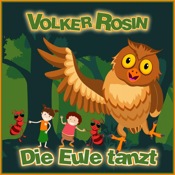 Volker Rosin - Die Eule tanzt - Cover