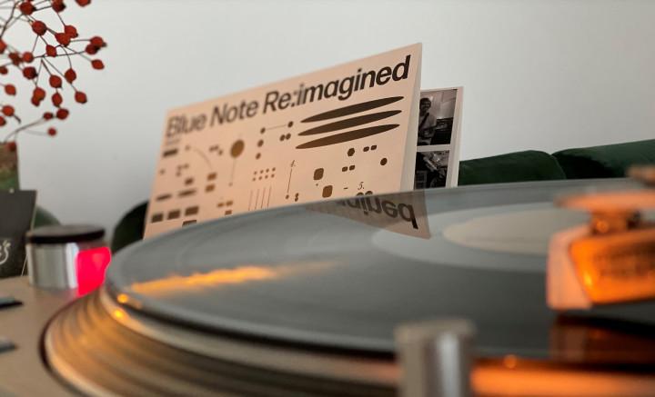 JazzEcho-Plattenteller - Blue Note Re:imagined